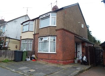 Thumbnail 2 bedroom semi-detached house to rent in Chandos Road, Beechill, Luton