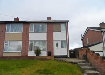 Thumbnail 2 bedroom semi-detached house to rent in Gore Hill Estate, Thornley, Durham