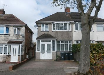 Thumbnail 3 bedroom semi-detached house for sale in Derron Avenue, South Yardley, Birmingham
