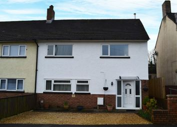 Thumbnail 3 bed semi-detached house for sale in Heol Trecastell, Caerphilly