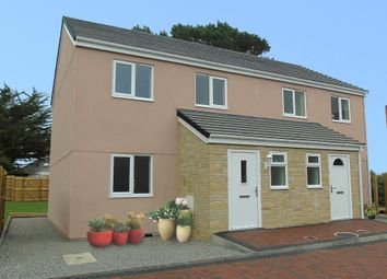Thumbnail 3 bed end terrace house for sale in Strawberry Fields, Crowlas, Penzance, Cornwall.