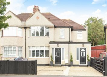 Thumbnail 4 bed semi-detached house for sale in Selwood Road, Chessington