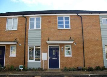 Thumbnail 1 bed terraced house to rent in Libertas Drive, Stanground, Peterborough