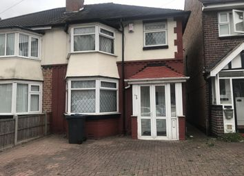 Thumbnail Semi-detached house for sale in Cranbrook Rd, Handsworth
