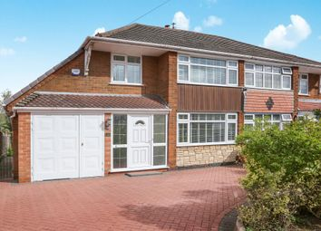 Thumbnail 4 bed semi-detached house for sale in Spondon Road, Off Linthouse Lane Wednesfield, Wolverhampton