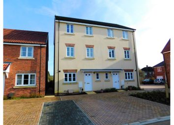 Thumbnail 4 bedroom semi-detached house for sale in Cricketers Close Royal Wootton Bassett, Swindon