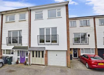 Thumbnail 4 bedroom town house for sale in Elizabeth Street, Greenhithe, Kent