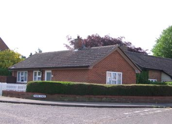 Thumbnail 2 bed semi-detached bungalow to rent in Mill Rise, Saxmundham, Suffolk
