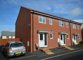 Thumbnail 3 bed end terrace house for sale in Best Park, Cranbrook, Near Exeter