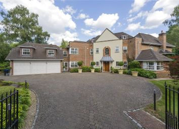 Thumbnail 5 bedroom detached house for sale in Wellington Avenue, Virginia Water, Surrey
