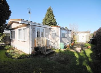 Thumbnail 2 bed mobile/park home for sale in St Leonards Farm Park, Ringwood Road, West Moors, Dorset