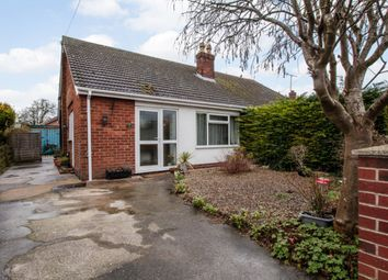 Thumbnail 2 bed semi-detached bungalow for sale in Westfield Drive, Lincoln, Lincolnshire