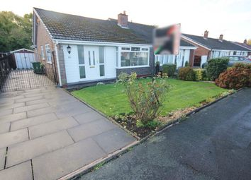 Thumbnail 2 bed semi-detached bungalow for sale in Winfrith Road, Fearnhead, Warrington