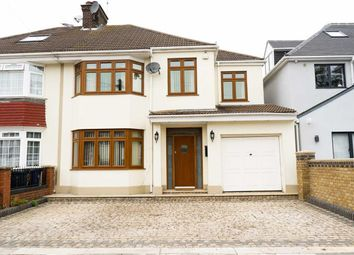 Thumbnail 4 bed semi-detached house for sale in Melbury Avenue, Norwood Green, Middlesex