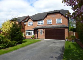 Thumbnail 5 bed detached house for sale in Hollyfields, Winterley, Sandbach