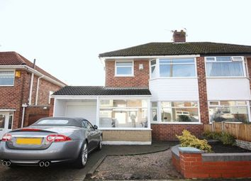 Thumbnail 3 bed semi-detached house for sale in Stonyhurst Road, Woolton, Liverpool