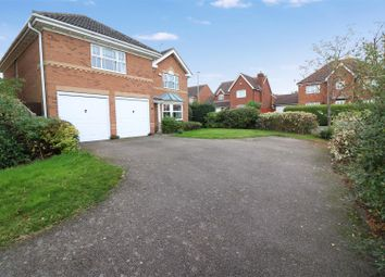 Thumbnail 4 bedroom detached house for sale in Meadow Sweet Road, Rushden