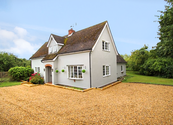 Thumbnail 4 bedroom detached house for sale in Mill Road, Newbourne, Woodbridge