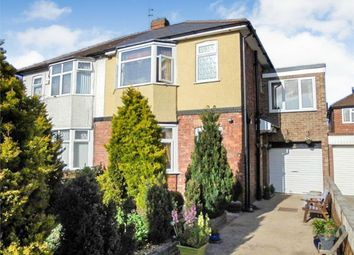 Thumbnail 3 bed semi-detached house for sale in Lynton Gardens, Darlington, Durham