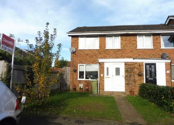 Thumbnail 3 bed end terrace house for sale in Holland Way, Newport Pagnell