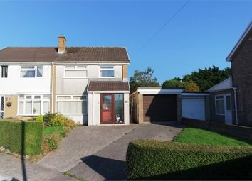 Thumbnail 3 bed semi-detached house for sale in Tyle Glas, Broadlands, North Cornelly, Bridgend, Mid Glamorgan