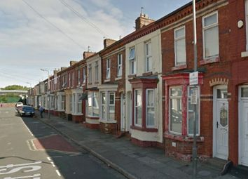 Thumbnail 4 bed terraced house to rent in Rossett Street, Tuebrook Liverpool