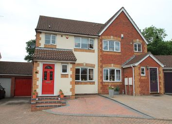 Thumbnail 3 bed semi-detached house for sale in Cleobury Close, Redditch