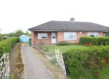 Thumbnail 2 bedroom semi-detached bungalow for sale in Glebe Way, Horstead, Norwich