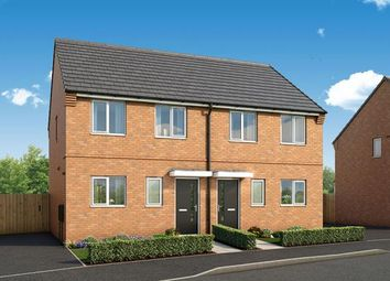"Thumbnail 3 bed property for sale in ""The Cornflower At Fairfields, Corby"" at Glastonbury Road, Corby"