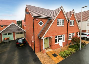 Thumbnail 3 bedroom semi-detached house for sale in Robin Way, Kingsteignton, Newton Abbot
