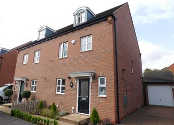 Thumbnail 4 bed semi-detached house for sale in Coral Crescent, Warsop, Mansfield