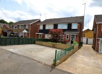 Thumbnail 3 bed semi-detached house to rent in Wicksteed Close, Kettering