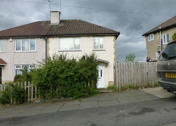 Thumbnail 3 bed semi-detached house for sale in Northwood Crescent, Idle, Bradford