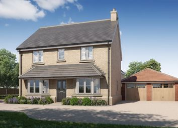 Thumbnail 4 bed detached house for sale in Greengates, Main Road, Great Leighs, Chelmsford
