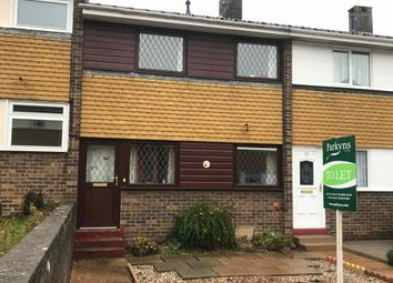 Thumbnail 2 bedroom terraced house to rent in Eyre Close, Bury St. Edmunds, Suffolk