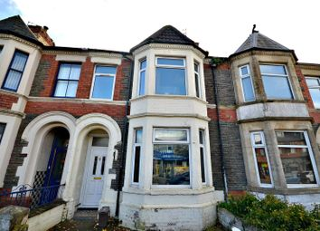 Thumbnail 4 bed terraced house for sale in Cowbridge Road East, Canton, Cardiff