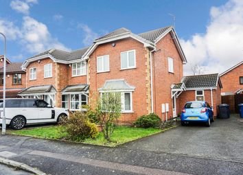 Thumbnail 3 bed semi-detached house for sale in Suffolk Way, Fazeley, Tamworth