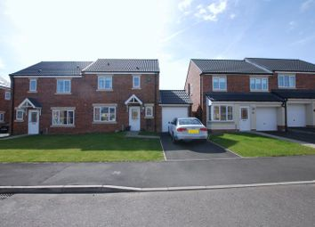 Thumbnail 3 bed semi-detached house for sale in Dunnock Place, Wideopen, Newcastle Upon Tyne