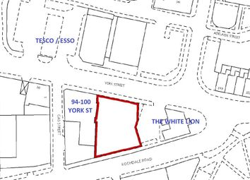 Thumbnail Land for sale in Land, 100 York Street, Heywood