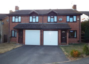 Thumbnail 3 bed semi-detached house for sale in Longstock Close, Chineham, Basingstoke
