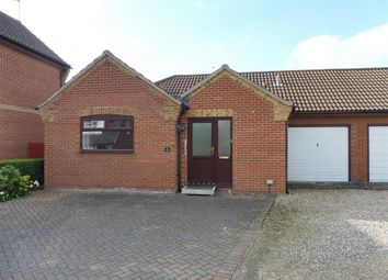 Thumbnail 2 bedroom bungalow for sale in Sir Williams Close, Aylsham, Norwich