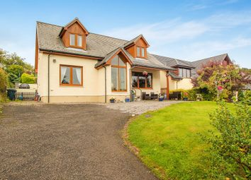 Thumbnail 4 bed detached house for sale in Glencruitten Road, Oban, Argyllshire
