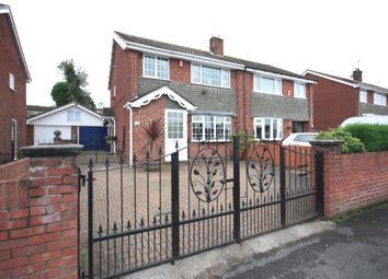 Thumbnail 3 bedroom semi-detached house for sale in Newchapel Road, Kidsgrove, Stoke-On-Trent
