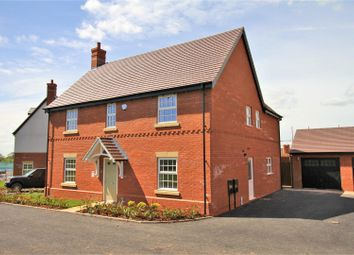 Thumbnail 4 bedroom detached house for sale in Heather Lane, Ravenstone, Coalville