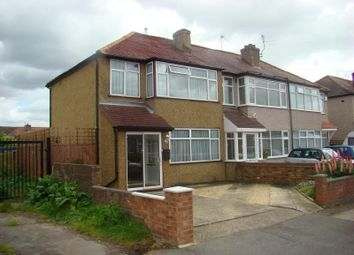 Thumbnail 3 bed semi-detached house for sale in Midhurst Gardens, Hayes