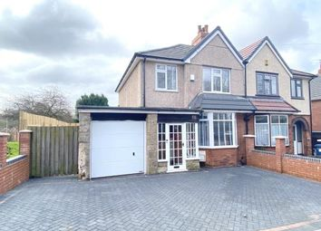 Berry Hill Lane, Berry Hill, Mansfield, Nottinghamshire NG18. 3 bed semi-detached house for sale