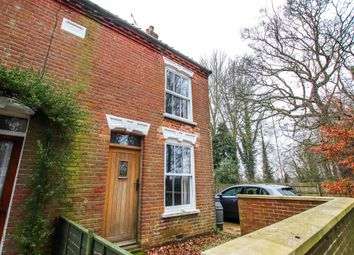 Thumbnail 2 bed semi-detached house for sale in The Street, Swafield, North Walsham