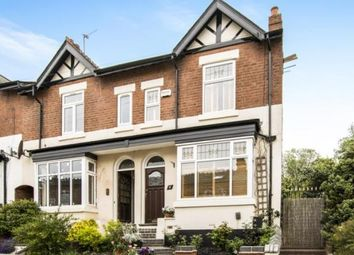 Thumbnail 3 bed end terrace house for sale in Rose Road, Harborne, Birmingham, West Midlands