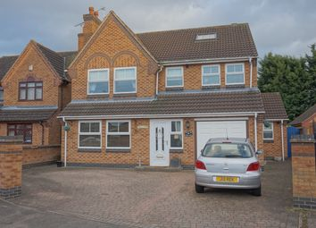Thumbnail 5 bedroom detached house for sale in Field View, Thurmaston, Leicester