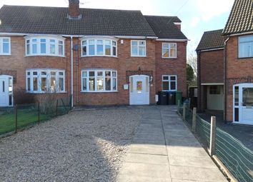 Thumbnail 4 bed semi-detached house for sale in Hall Road, Scraptoft